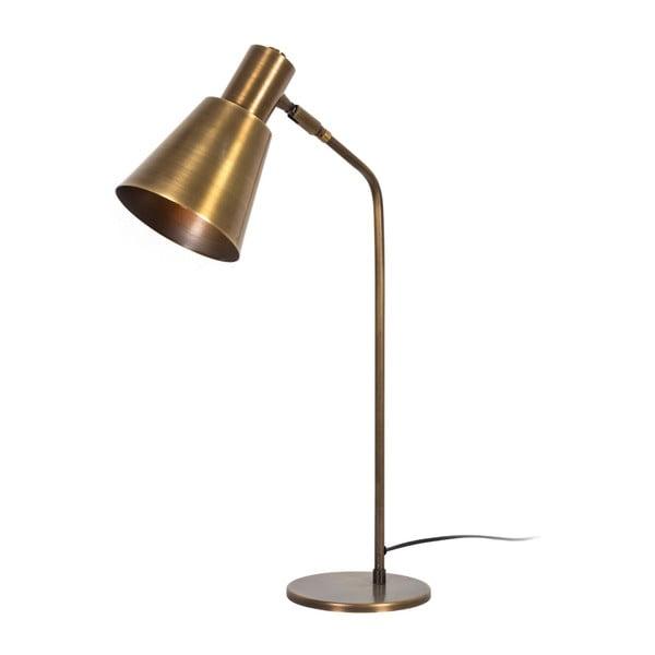 Lampa stołowa w złotej barwie Tay