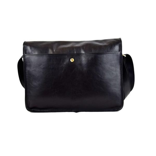 Kožená taška Santo Croce 108718 Black