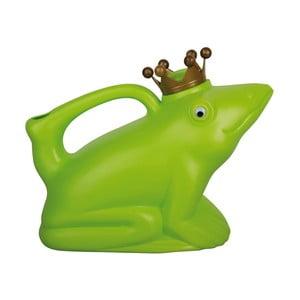Zelená plastová konvička ve tvaru žáby Ego Dekor