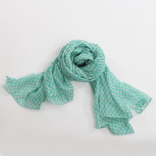 Šátek, pastelově zelená