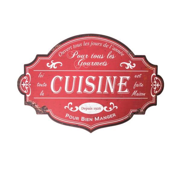 Nástěnná cedule Antic Line Cuisine Pour