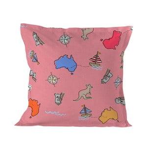 Povlak na polštář Baleno Kangaroo Pink, 60 x 60 cm