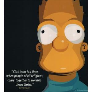 Obraz Bart Simpson