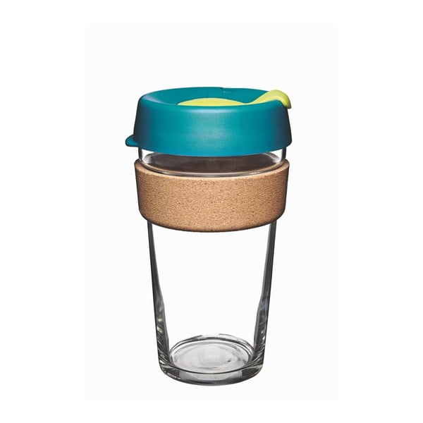 Cestovný hrnček s viečkom KeepCup Brew Cork Edition Turbine, 454 ml