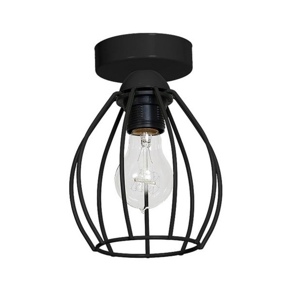 Czarna lampa sufitowa Don Uno