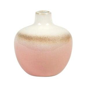 Váza Sass & Belle Dip Glazed Pink