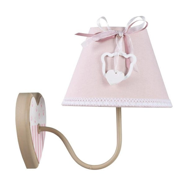 Nástěnná lampa Pink Wall