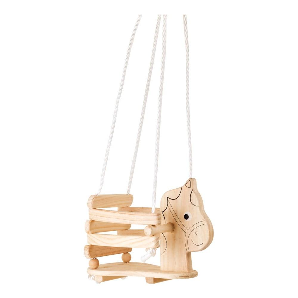 Dřevěná houpačka ve tvaru koníka Legler Horse Legler