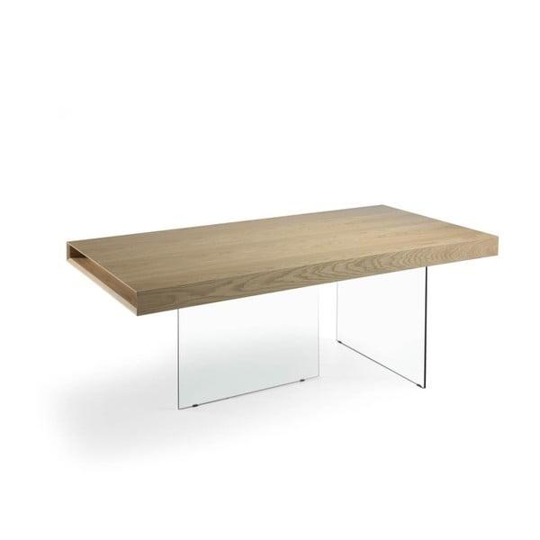 Jídelní stůl ze skla a kovu Ángel Cerdá Americana