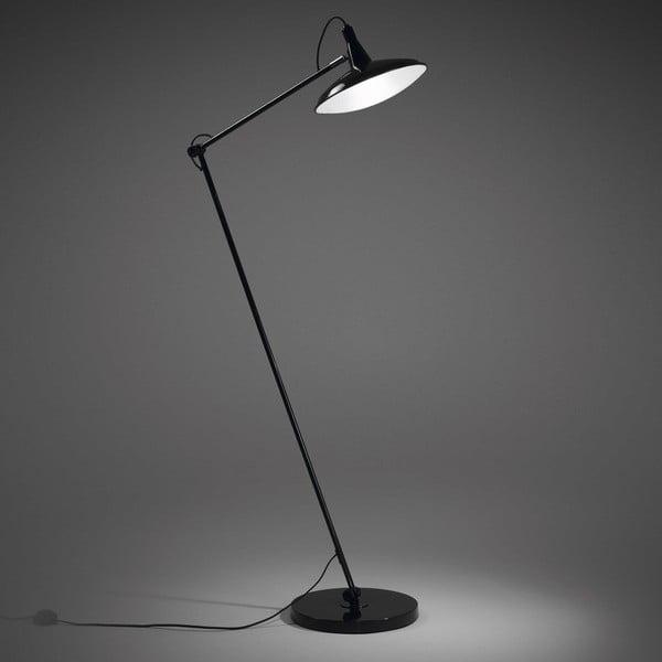Černá stojací lampa La Forma Glizz