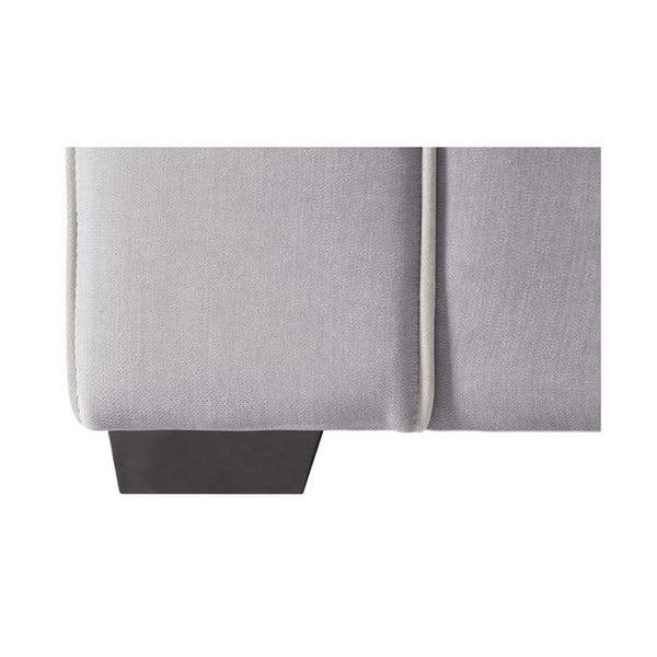 Trojdílná sedací souprava Jalouse Maison Serena, světle šedá