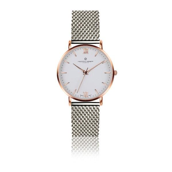 Dámské hodinky s páskem z nerezové oceli ve stříbrné barvě Frederic Graff Dent