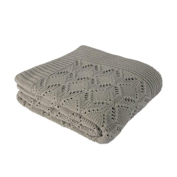 Mentolově modrá bavlněná deka Homemania Cotton,170x130cm