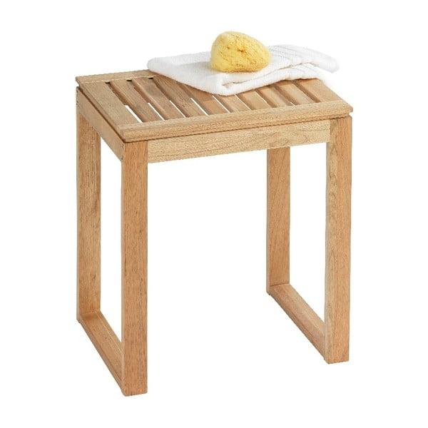 Koupelnová stolička z ořechového dřeva Wenko Norway