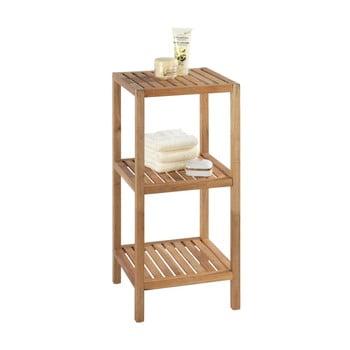 Suport din lemn pentru baie cu 2 rafturi Wenko Norway imagine