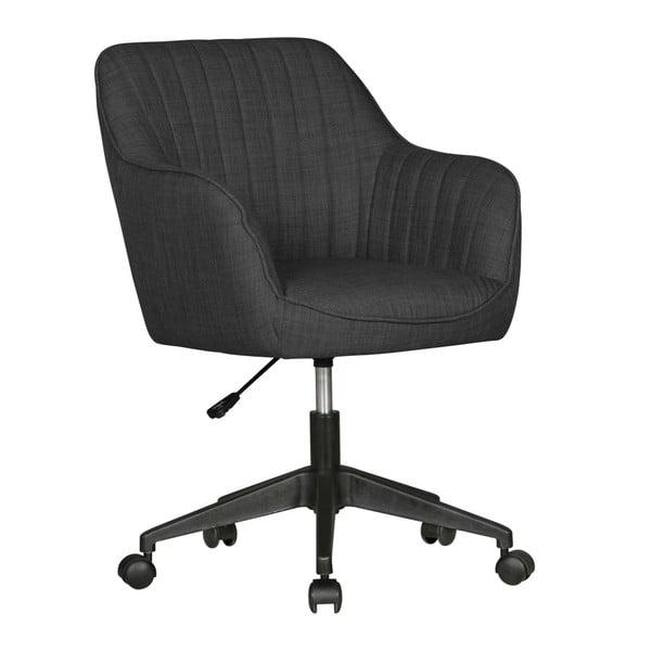 Antracitová pracovní židle na kolečkách Skyport Amstyle Mara