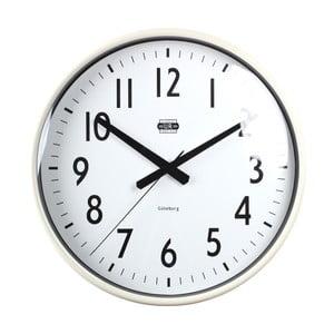 Krémové nástěnné hodiny Strömshaga, Ø 40 cm