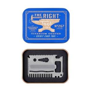 Multifunkční karta Gentlemen's Hardware Credit Card