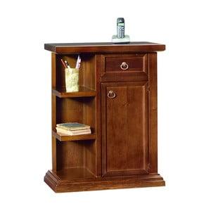 Comodă din lemn cu rafturi, ușă și sertar Castagnetti Legno
