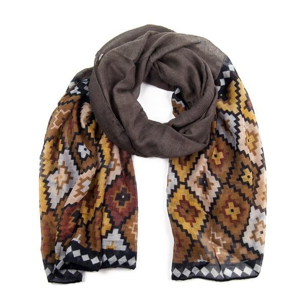 Šátek Aztec Brown