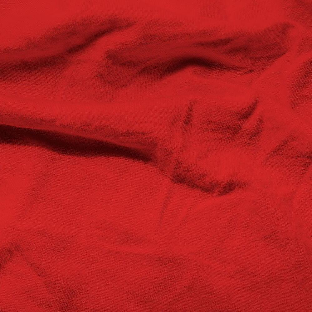 Červené elastické prostěradlo Homecare, 140 x 200 cm