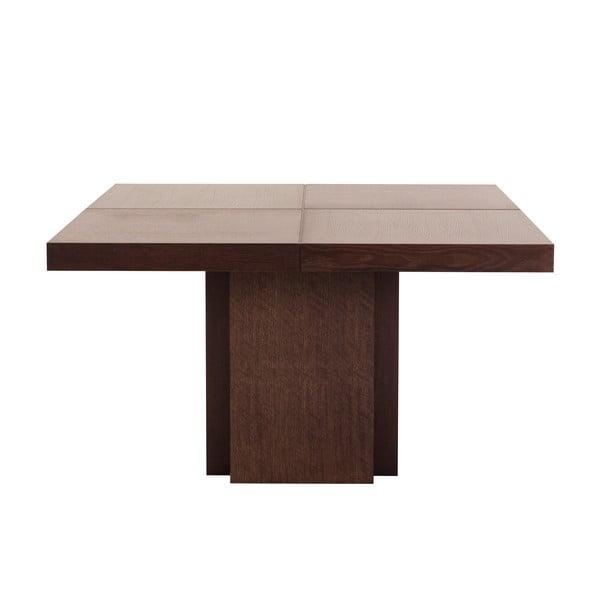 Tmavě hnědý jídelní stůl TemaHome Dusk, 150 cm