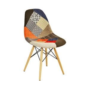 Barevná židle Esidra Patch