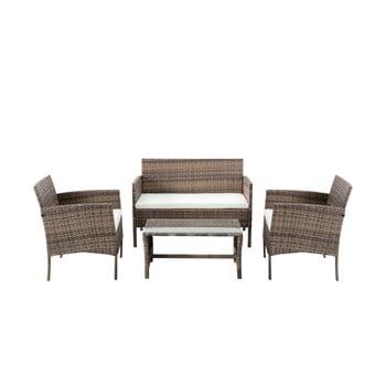 Set mobilier de grădină din ratan artificial Timpana Berry imagine