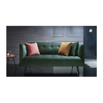 Canapea pentru 3 locuri Bobochic Paris Paris, verde de la Bobochic Paris