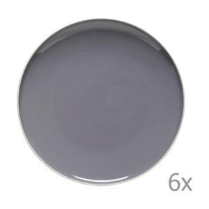 Sada 6 jídelních talířů Sorbetto