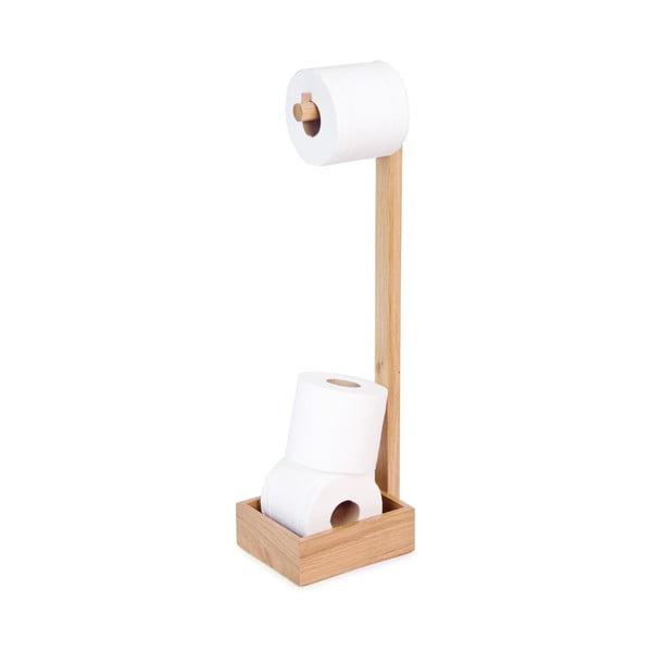 Dřevěný stojan na toaletní papír Wireworks Mezza
