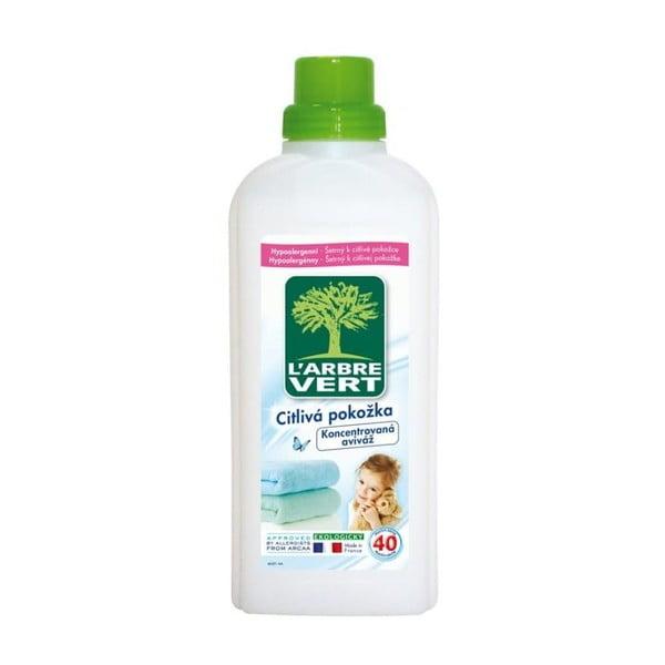Ekologiczny hipoalergiczny płyn do płukania tkanin L´Arbre Vert, 2x750 ml