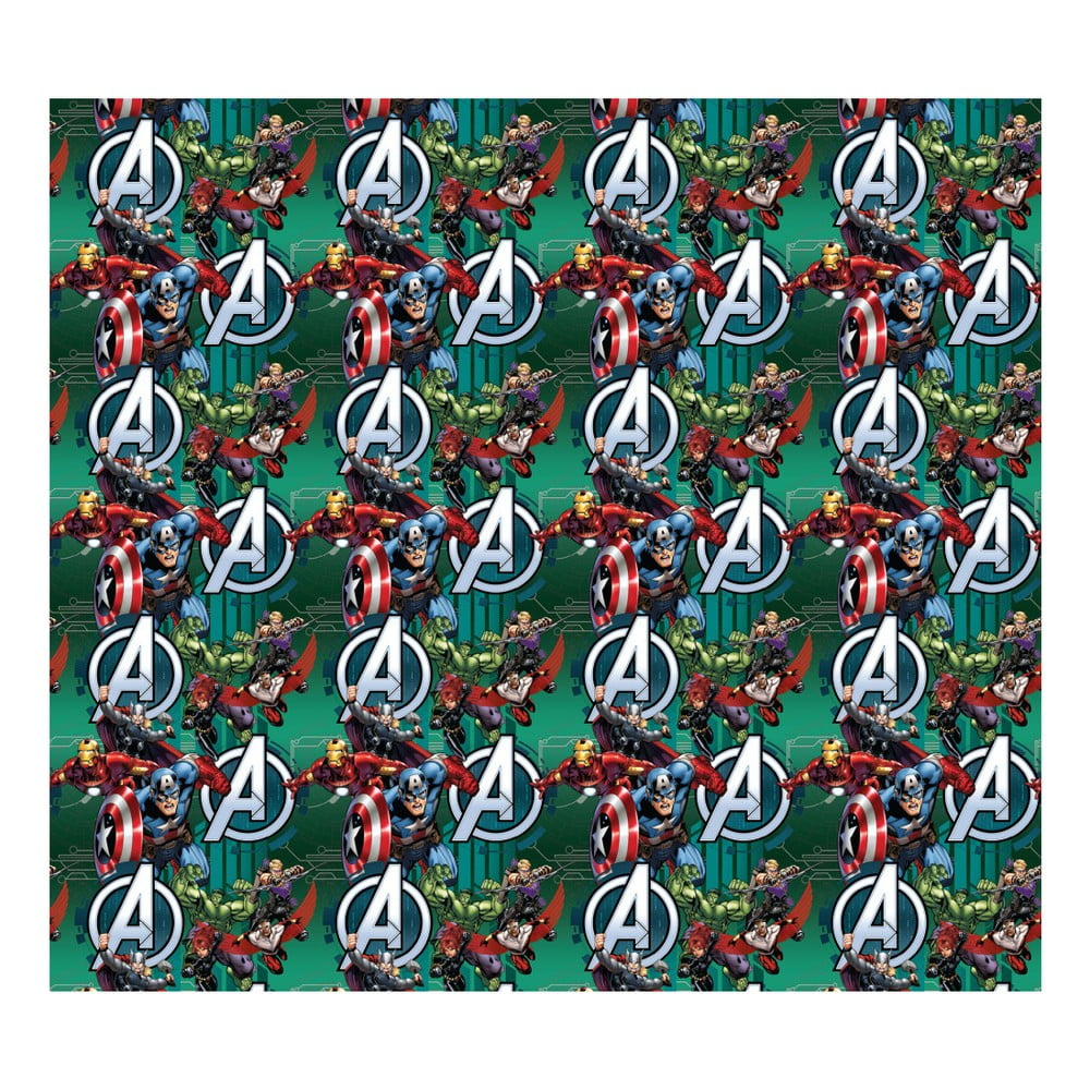 Foto závěs AG Design Avengers III, 160 x 180 cm
