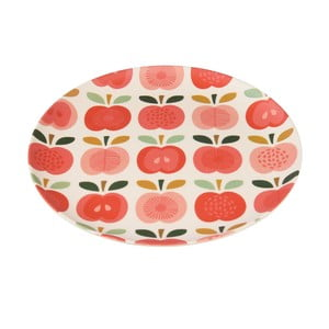 Farfurie din bambus Rex London Vintage Apple, ⌀ 20 cm