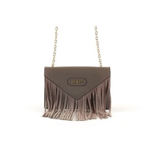 Pískově hnědá kabelka z telecí kůže Beverly Hills Polo Club Narella