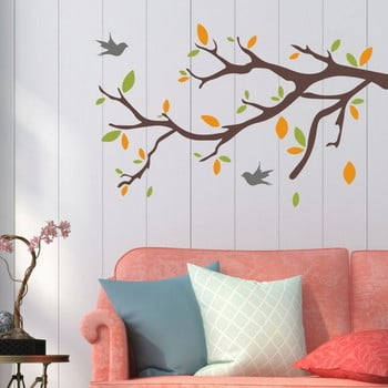 Autocolant decorativ pentru perete Tree & Birds de la Unknown