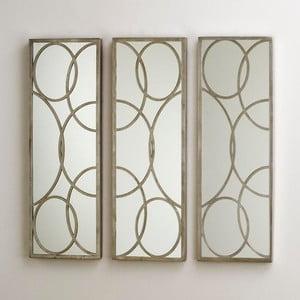Oglindă de perete formată din 3 piese Thai Natura Joes