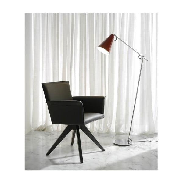 Lampa s červeným stínítkem Ángel Cerdá Lojo