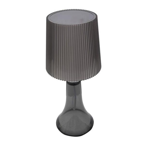 Šedá stolní lampa Mauro Ferretti Paralume