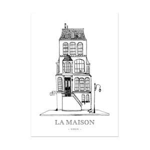 Plakát Leo La Douce La Maison Coco, 21x29,7cm