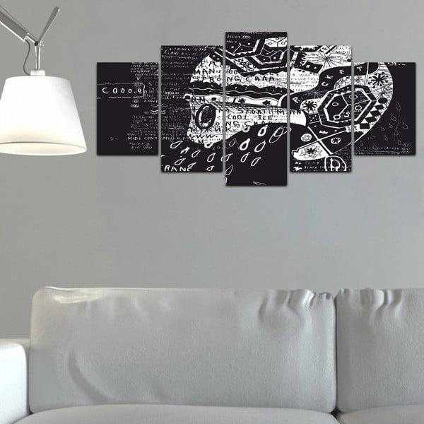 Vícedílný obraz Black&White no. 99, 100x50 cm