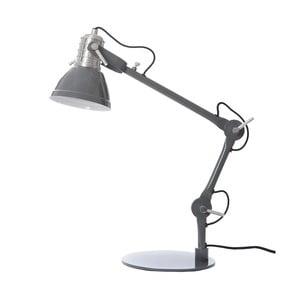 Tmavě šedá stolní lampa Look4Lamps Casdock