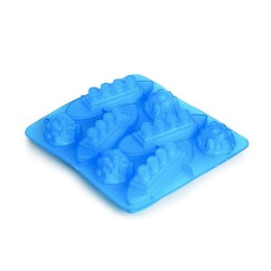 Modrá silikonová forma na led Gift Republic Titanic