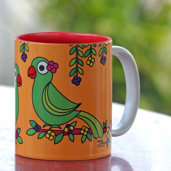 Hrnek Jalebi Talking Parrots