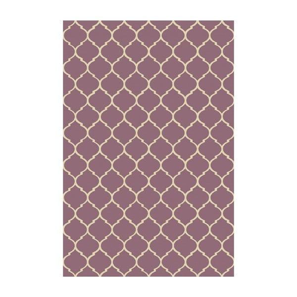 Vinylový koberec Reticular Marsala, 200x300 cm