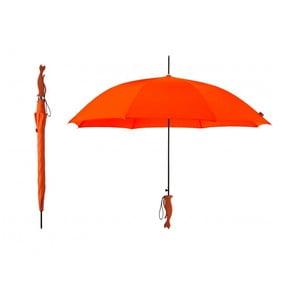 Deštník Silhouette Cat, oranžový
