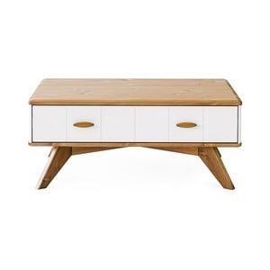 Konferenční stolek z borovicového dřeva Askala Maru