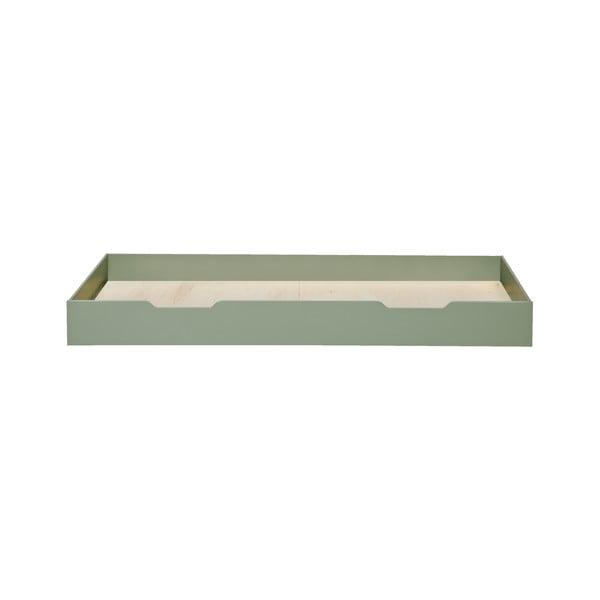 Nikki zöld ágy alatti fiók, 200 x 90 cm - WOOOD