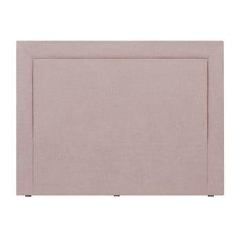 Tăblie de pat Mazzini Sofas Ancona, 180 x 120 cm, roz de la Mazzini Sofas