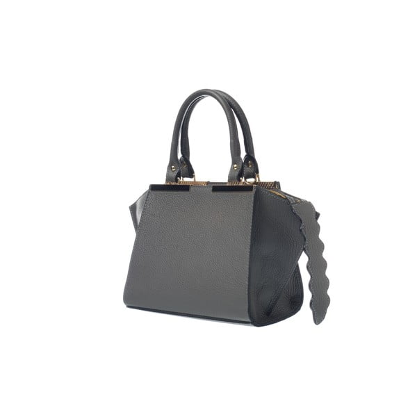 Kožená kabelka Fashion Bag Grey